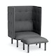 Dark Blue + Dark Gray QT Privacy Lounge Chair,Dark Blue,hi-res