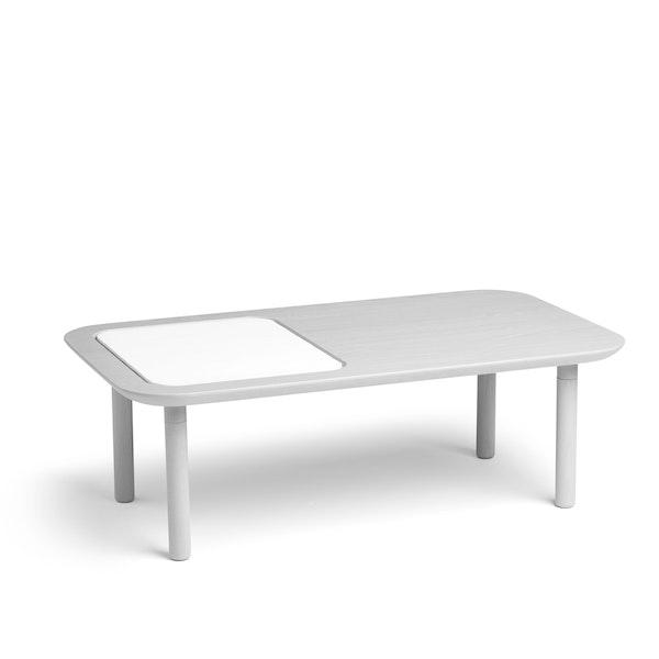 Gray Take Note Coffee Table + Memo Pad,Gray Ash,hi-res