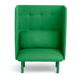 Leaf Green QT Privacy Lounge Chair,Leaf Green,hi-res