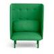 Leaf Green QT Privacy Lounge Chair,Leaf Green,hi-res