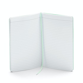 Custom Mint Medium Softcover Notebook,Mint,hi-res