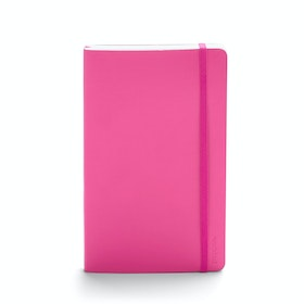 Pink Medium Soft Cover Notebook,Pink,hi-res