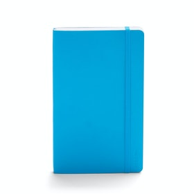 Pool Blue Medium Soft Cover Notebook,Pool Blue,hi-res