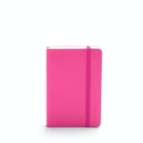 Pink Small Soft Cover Notebook,Pink,hi-res
