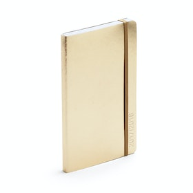 Gold Medium 18-Month Soft Cover Planner, 2017-2018 ,Gold,hi-res