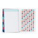 Aqua Medium 18 Month Pocket Book Planner, 2017-2018,Aqua,hi-res
