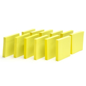 Yellow Mobile Memos, Set of 12,Yellow,hi-res