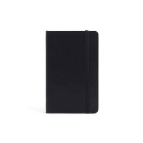 Black Small Soft Cover Notebook,Black,hi-res