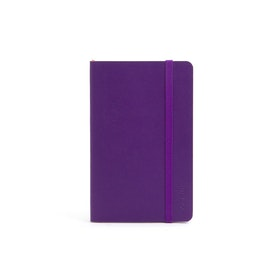 Purple Small Soft Cover Notebook,Purple,hi-res