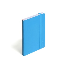 Pool Blue Small Soft Cover Notebook,Pool Blue,hi-res
