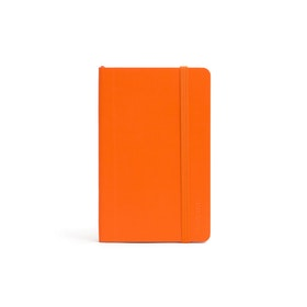 Orange Small Soft Cover Notebook,Orange,hi-res