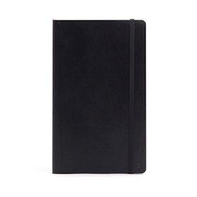 Black Medium Soft Cover Notebook,Black,hi-res