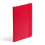 Red Medium Soft Cover Notebook,Red,hi-res