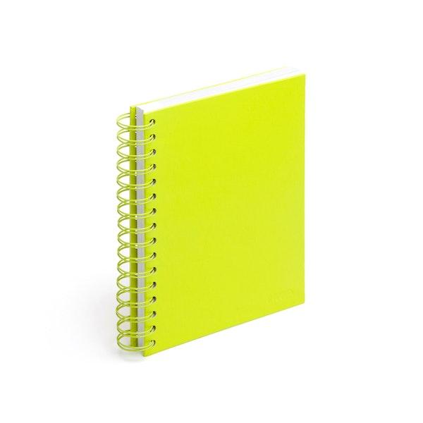 Lime Green Medium Spiral Notebook,Lime Green,hi-res