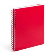 Red Large Spiral Subject Notebook,Red,hi-res