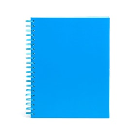Pool Blue Large Spiral Subject Notebook,Pool Blue,hi-res