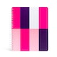 Taffy 3-Subject Spiral Subject Notebook,Multi,hi-res