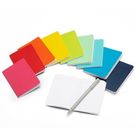 Mini Medley Classic Assorted Soft Cover Notebooks, Set of 10