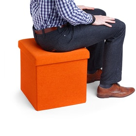 Orange Box Seat,Orange,hi-res