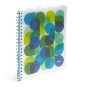 Pool Kaleidoscope 1-Subject Spiral Notebook,Pool Blue,hi-res