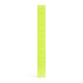 Neon Green Ruler,Lime Green,hi-res