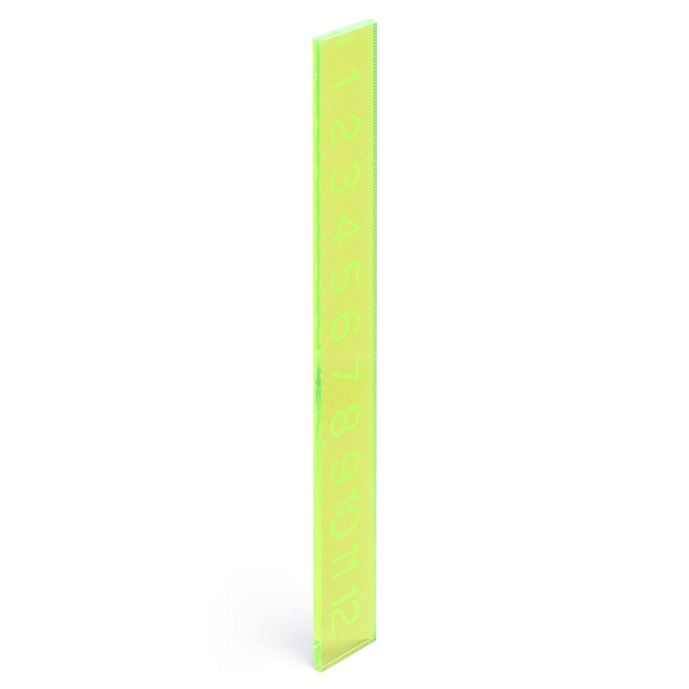 ... Neon Green Ruler,Lime Green,hi Res