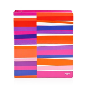 "1"" Pink Streamer Binder,Pink,hi-res"