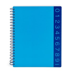 Pool Blue You Rule 3-Subject Notebook,Pool Blue,hi-res