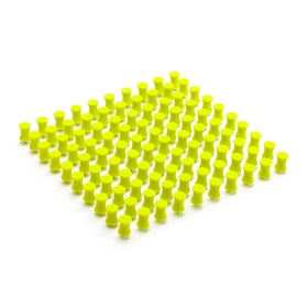 Lime Green Push Pins, Box of 100,Lime Green,hi-res