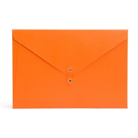 Orange Soft Cover Folio,Orange,hi-res