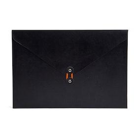 Black Soft Cover Folio,Black,hi-res