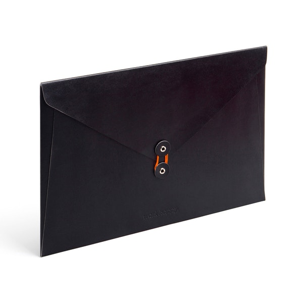 Black Soft Cover Folio,Black,hi-res