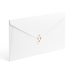 White Soft Cover Folio,White,hi-res