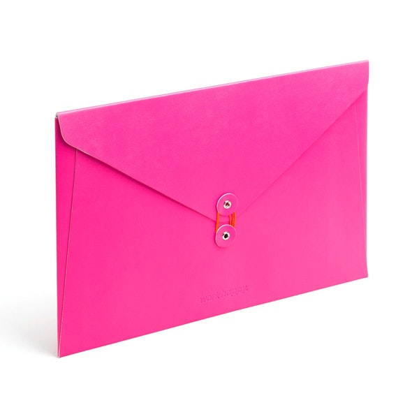 Pink Soft Cover Folio,Pink,hi-res