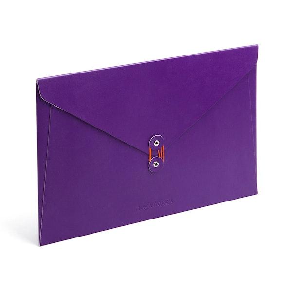 Purple Soft Cover Folio,Purple,hi-res