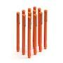 Orange Signature Ballpoint Pens w/ Black Ink, Set of 12,Orange,hi-res