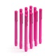 Pink Signature Ballpoint Pens w/ Black Ink, Set of 12,Pink,hi-res