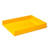 Yellow Single Letter Tray,Yellow,hi-res