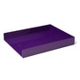 Purple Single Letter Tray,Purple,hi-res