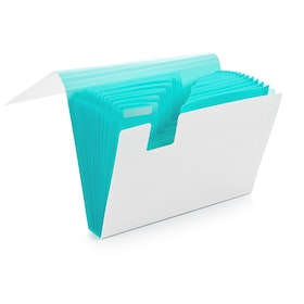 Aqua Accordion File,Aqua,hi-res