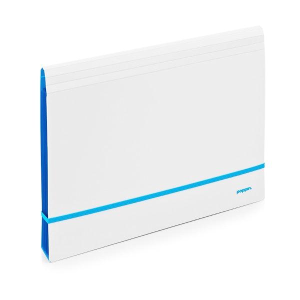 Pool Blue Accordion File,Pool Blue,hi-res