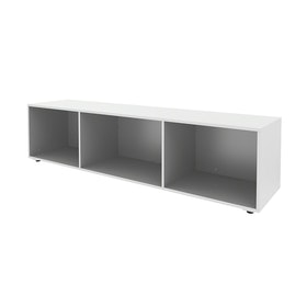 White Bivi Depot Shelf,White,hi-res