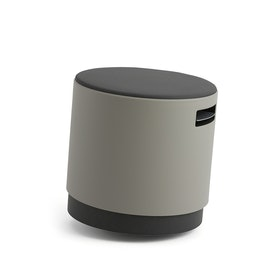 Gray Buoy Stool, Gray Seat,Gray,hi-res