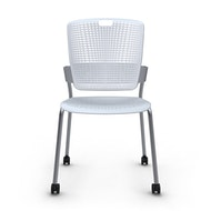Cinto Chair, Rolling, Silver Frame,,hi-res