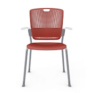 Cinto Chair with Arms, Silver Frame,,hi-res