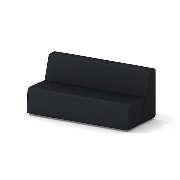 Campfire Big Lounge Sofa, Black,Black,hi-res