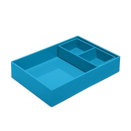 Pool Blue Double Tray,Pool Blue,hi-res