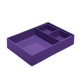Purple Double Tray,Purple,hi-res