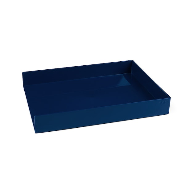 Navy Single Letter Tray,Navy,hi-res
