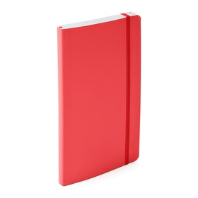 Coral Medium Softcover Notebook,Coral,hi-res